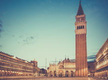 San Marco square, Venice Stock Image