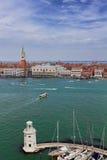 San Marco square waterfront, Venice Stock Photo