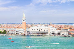 San Marco square waterfront, Venice Stock Photography