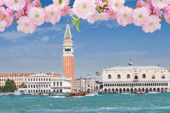 San Marco square waterfront, Venice Stock Image
