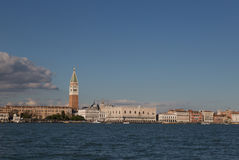 San Marco square waterfront, Venice, Italy Royalty Free Stock Image