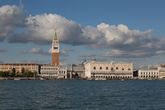San Marco square waterfront, Venice, Italy Stock Images