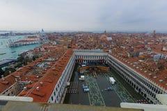 San Marco Terasa Fotografia de Stock