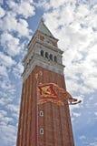 San Marco, torre de Venecia Bell Fotos de archivo libres de regalías