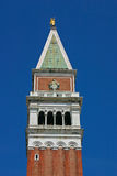 San Marco Tower. The San Marco Palace, Tower and Cathedral in Venice Royalty Free Stock Photos