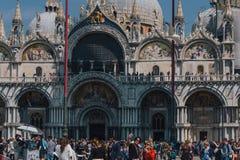 San marco in Venedig stockfotos