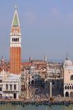 San Marco Venetië Stock Foto