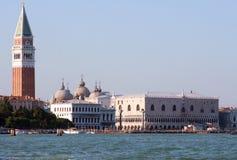 San Marco Venetië Italië Stock Afbeeldingen