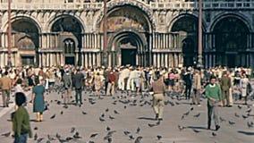 San Marco Veneza video estoque