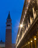 San Marco Venice night scene Royalty Free Stock Photography