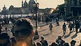 San Marco Venise carr?e banque de vidéos