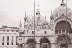 San Marcos Cathedral Church; Venice; Italy Stock Images