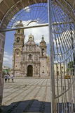 San Marcos Church. Church of San Marcos situated at the city of Aguascalientes, Mexico stock photo