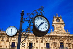 San Marcos in Leon at the way of Saint James Stock Image