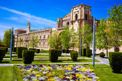 San Marcos in Leon at the way of Saint James Stock Photo