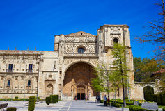 San Marcos in Leon at the way of Saint James Royalty Free Stock Photography