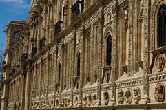 San Marcos Monastery in Leon.  Stock Photos