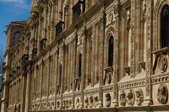 San Marcos Monastery in Leon.  Stock Photos