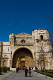 San Marcos Monastery in Leon.  Royalty Free Stock Photo