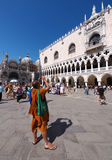 San Marcos Square, Venice Royalty Free Stock Photography