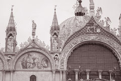 San Marcos - St Marks Cathedral Church, Venice Stock Image