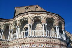 San Maria and Donato church. Stock Images