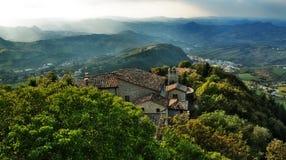 San Marino stock fotografie