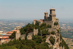 San Marino royalty free stock photo