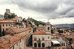 San Marino Fotografía de archivo