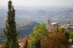 San Marino immagine stock