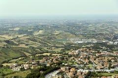 San Marino Stockfotografie