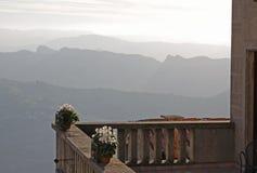 San Marino Balcony foto de archivo