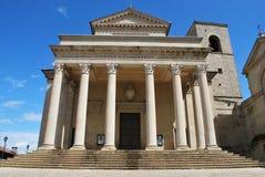 San Marino basilica Stock Photo