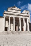 San Marino basilica Royalty Free Stock Photography