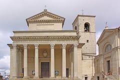 San Marino. Basilica Royalty Free Stock Photos