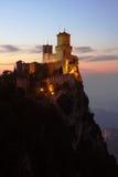 San Marino, castelo imagem de stock royalty free