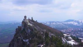 San marino, castle zdjęcie wideo