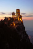 San Marino, castle Royalty Free Stock Image