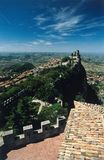 San Marino castle Stock Photo