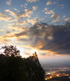 San Marino, castle Stock Photography