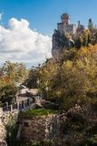 San Marino castle Royalty Free Stock Photo