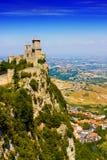 San Marino castle royalty free stock images