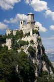 San Marino, Castle, Italy Royalty Free Stock Photos