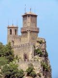 San Marino - Castle on the rock Stock Image