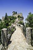 San Marino castle Royalty Free Stock Image