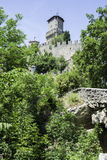San Marino castle Royalty Free Stock Photo