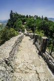 San Marino castle Stock Photo