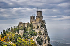 San Marino castle Stock Photos
