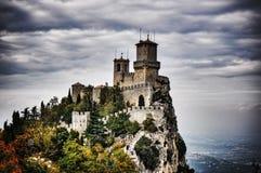 San Marino castle Stock Image