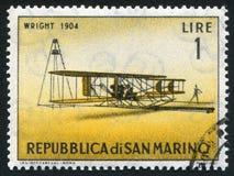 Historic Plane stock image